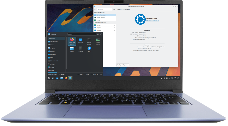 "UbuntuBook 14"" Tiger"