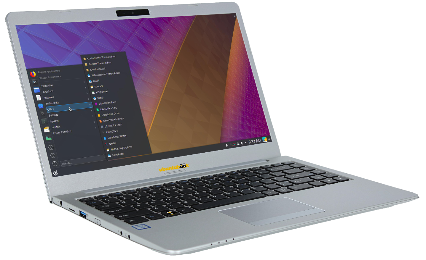 Ubuntu Secure Notebook 14
