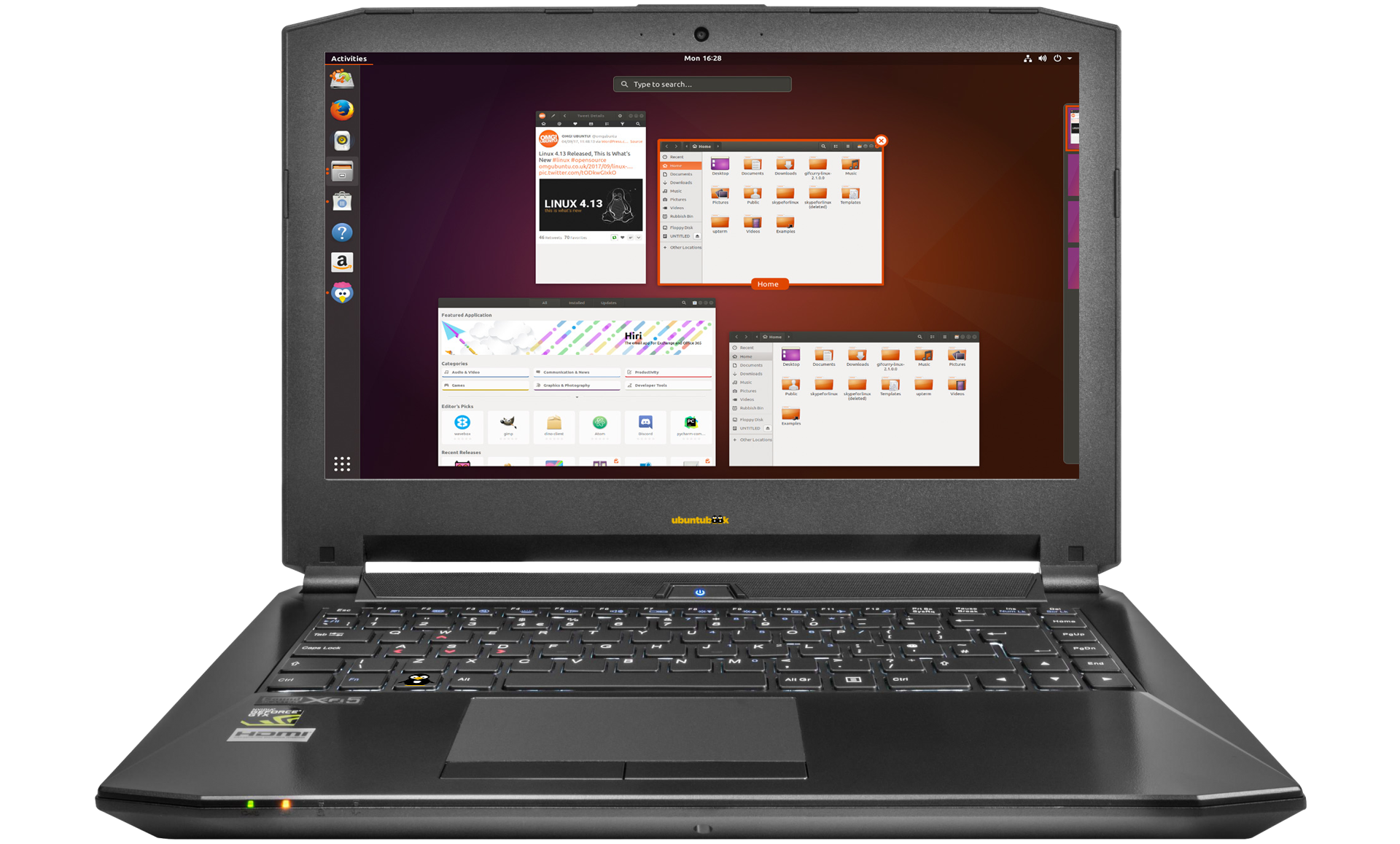 Ubuntu NoteBook 14