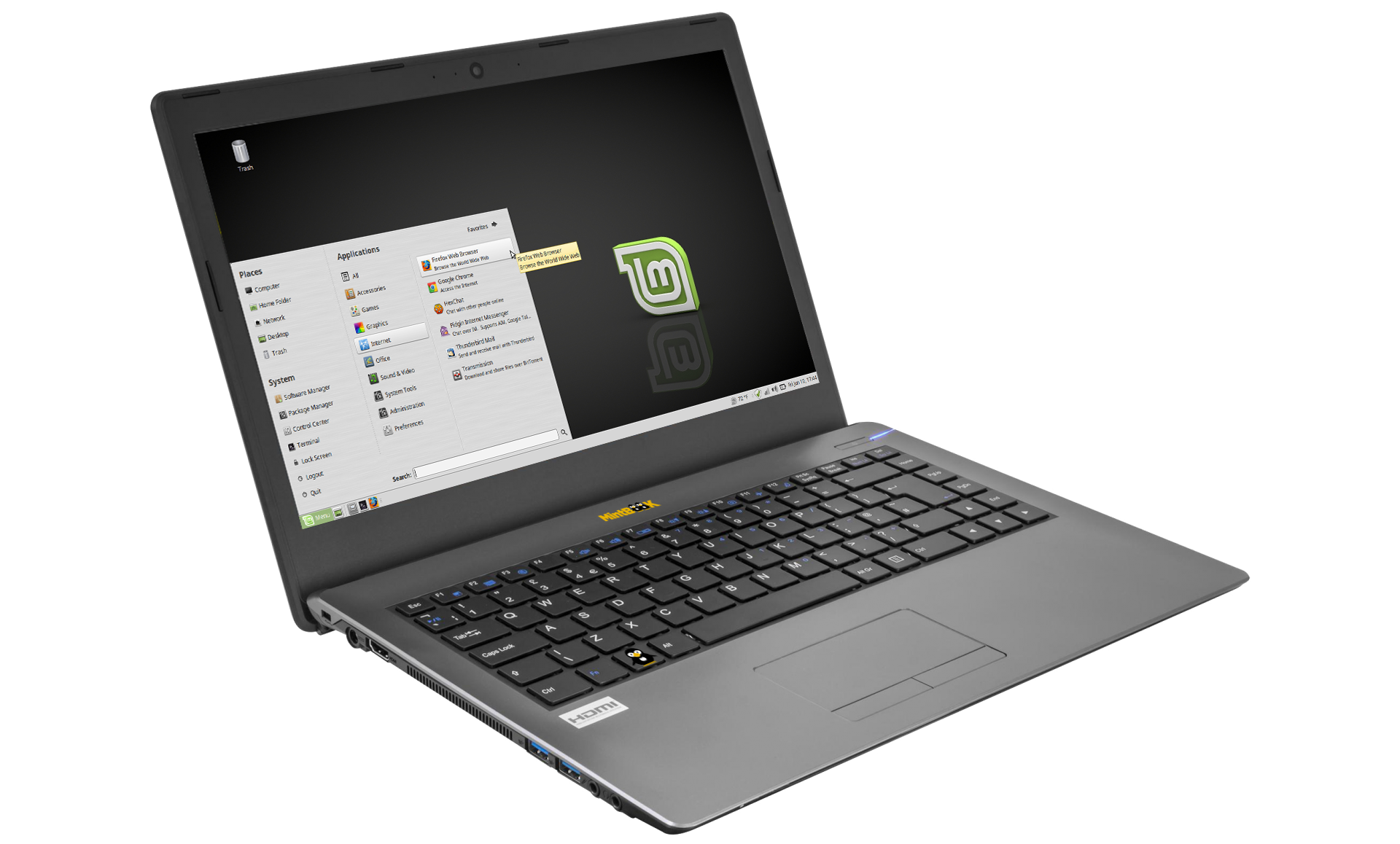 Linux-Mint NoteBook 14