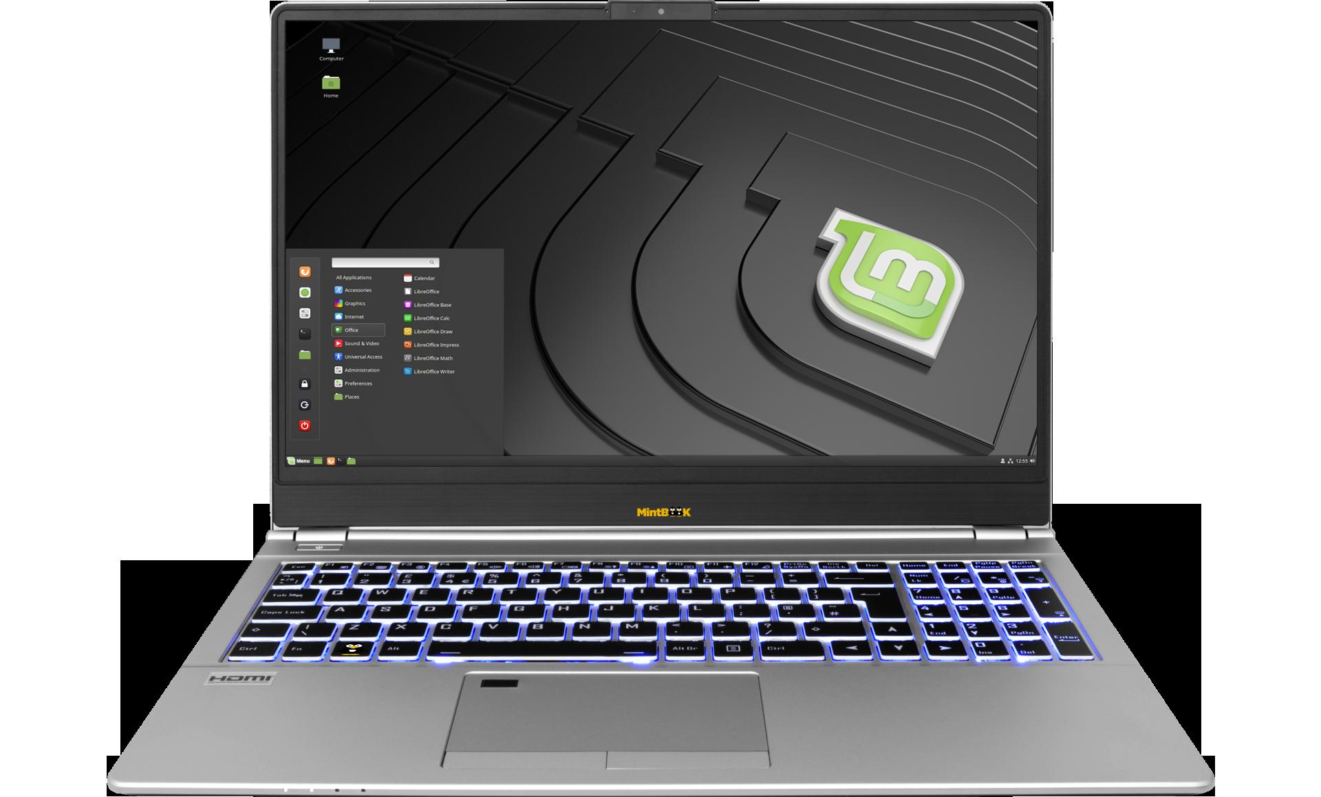 Linux-MintBook 15.6