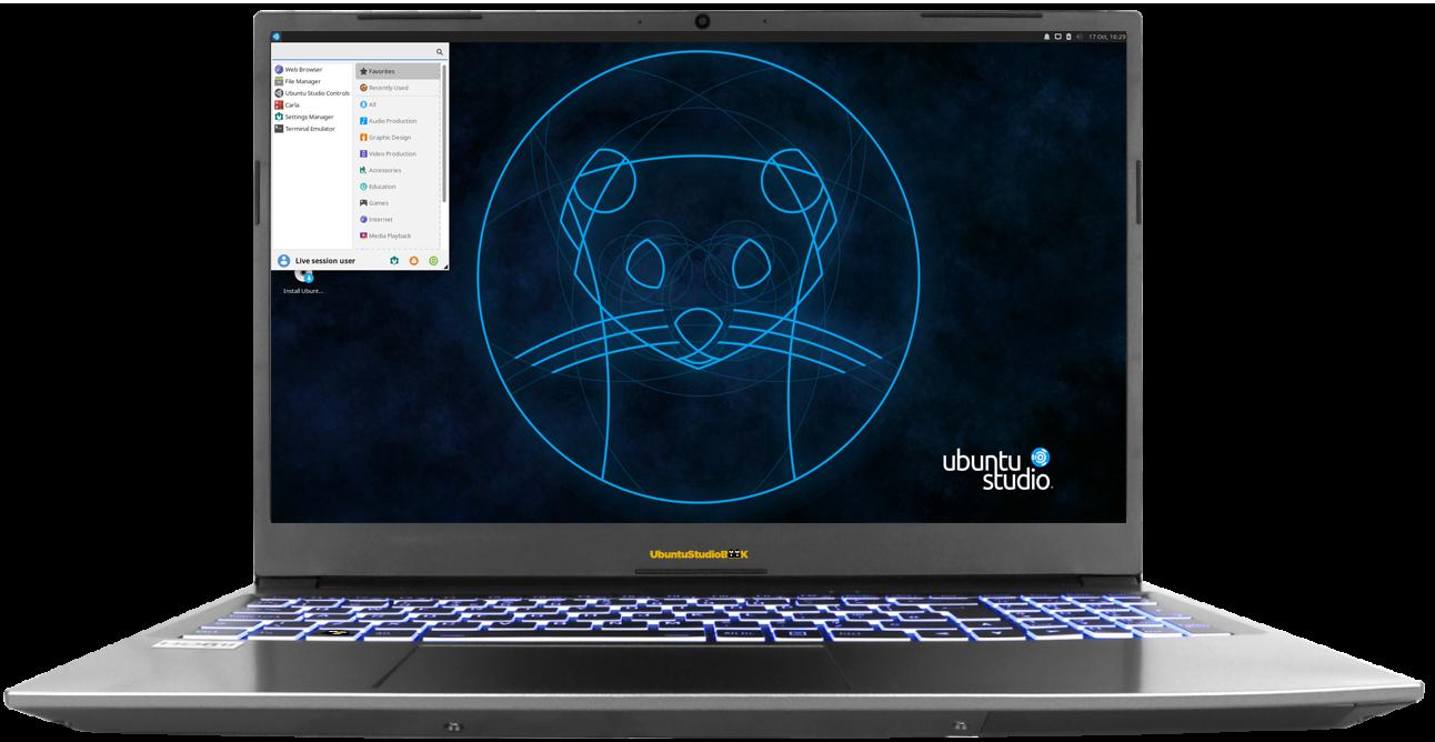 UbuntuStudioBook 15.6