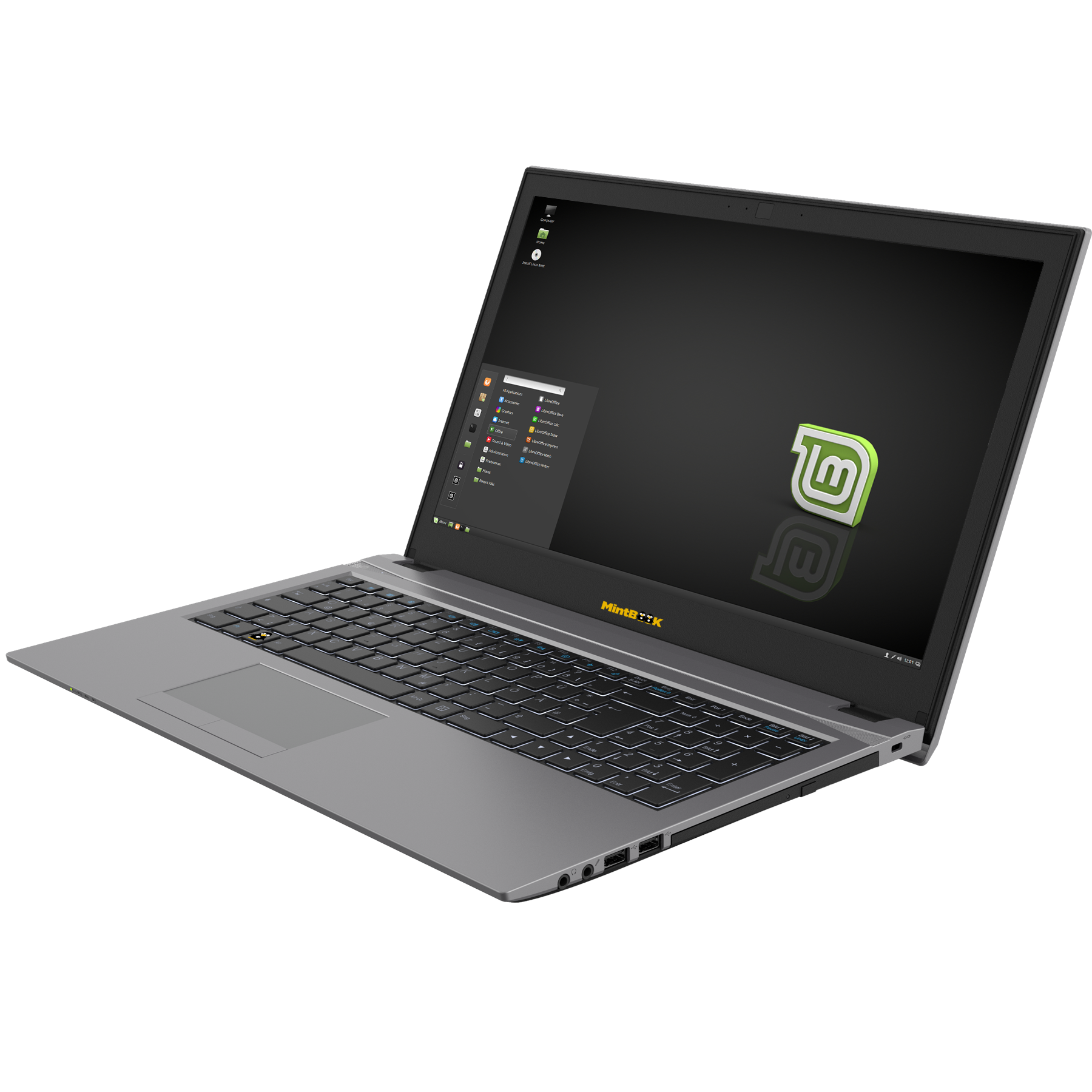 Linux-Mint NoteBook 15,6