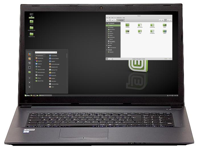 Ubuntu BOOK I3 & HD+/ Full HD screen (res. 1920x1080)