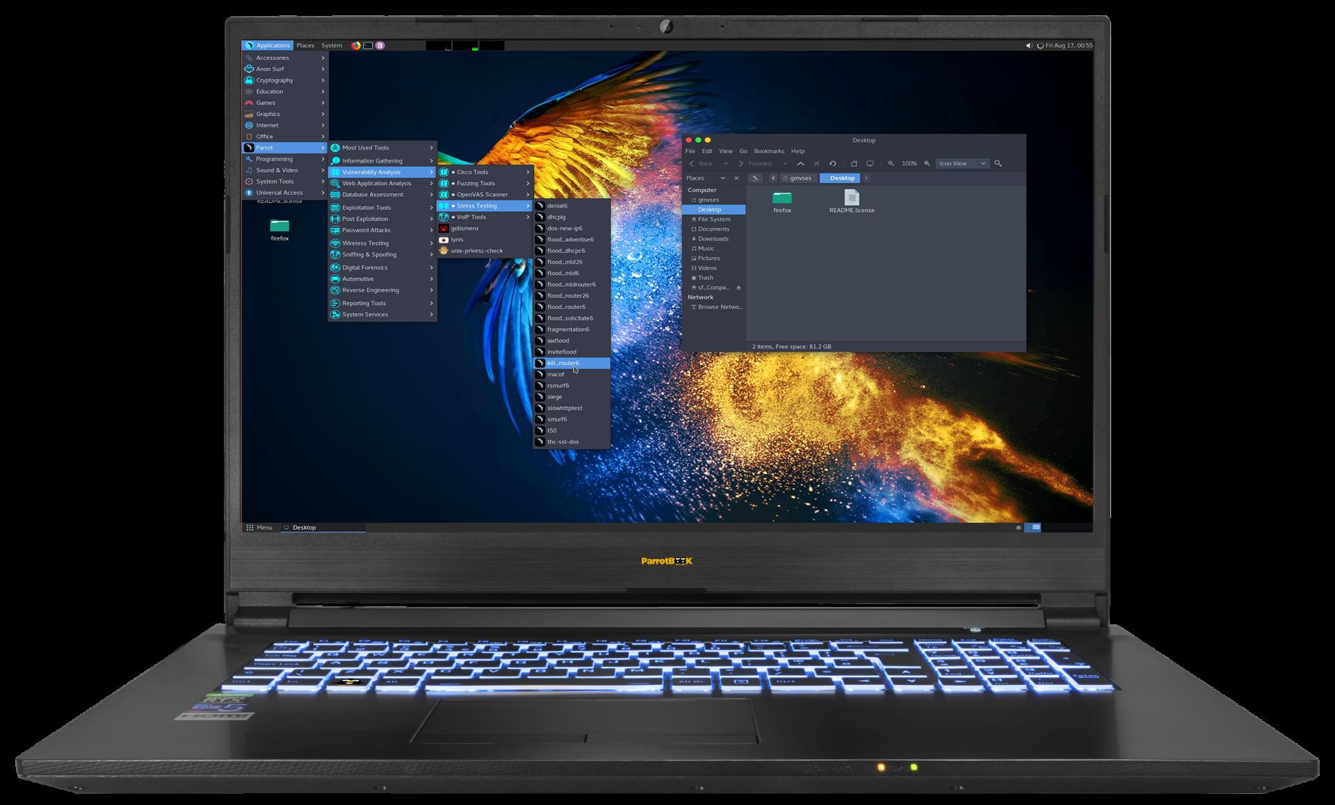Parrot NoteBook 17.3