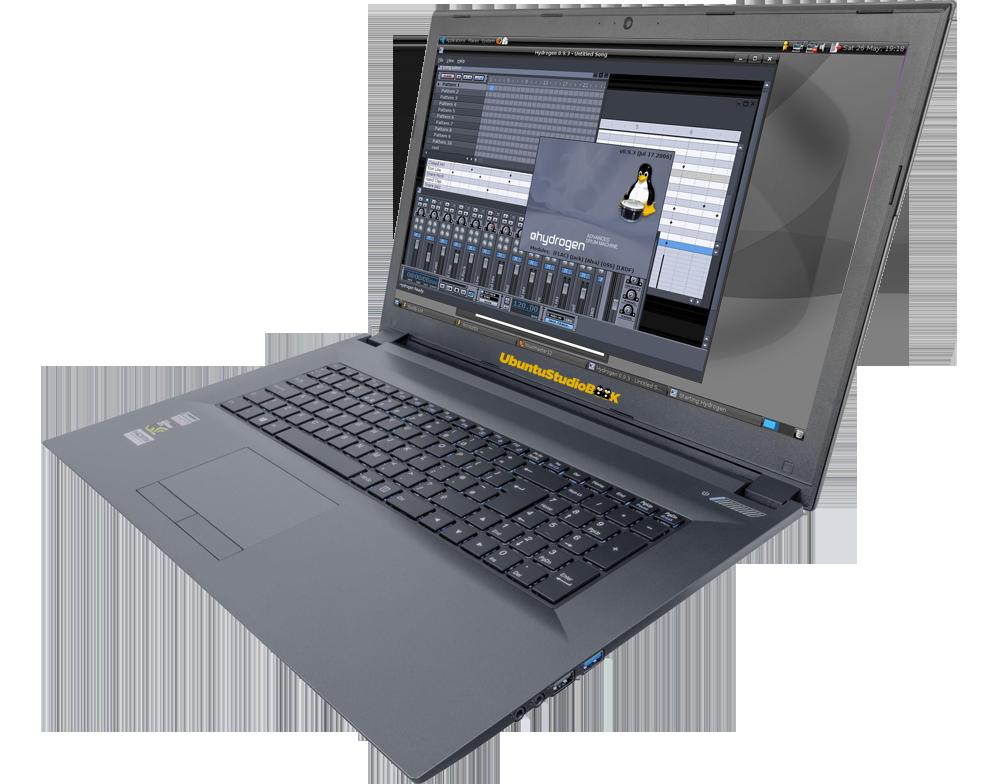 UbuntuStudio NoteBook 17.3