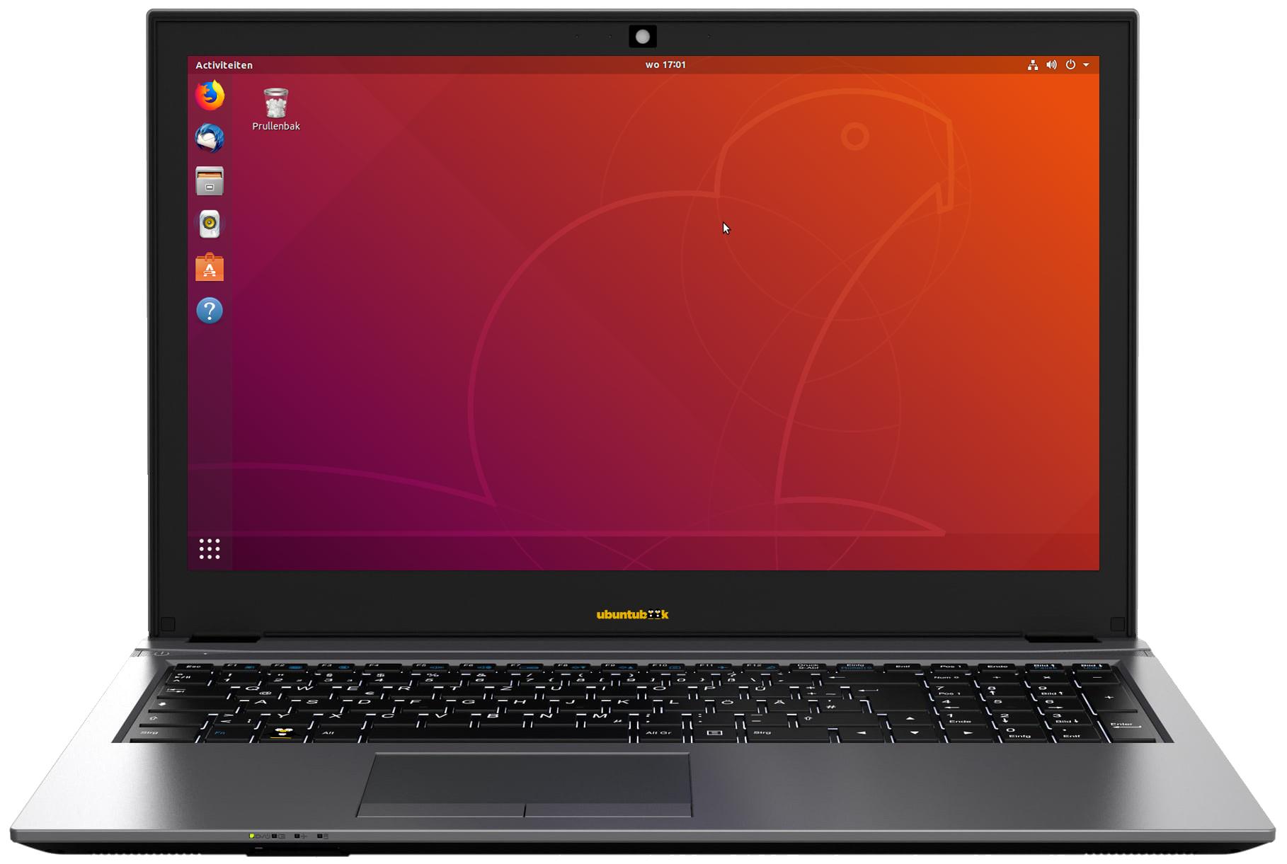 Ubuntu NoteBook 15,6