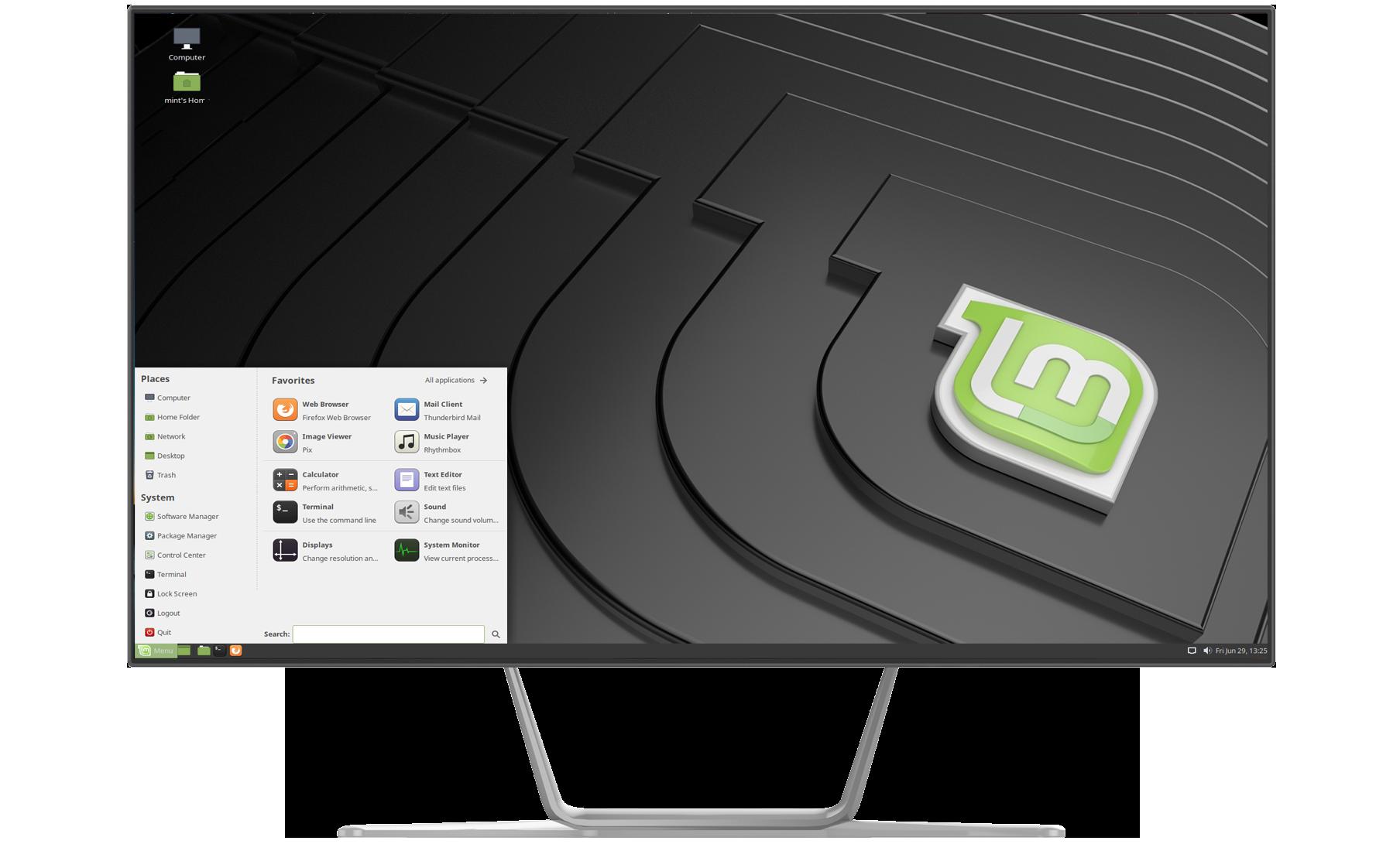 Linux-mint AIO 23,8