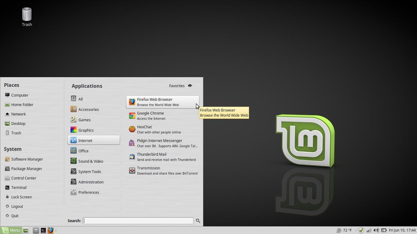 Linux-Mint NoteBook 17 3
