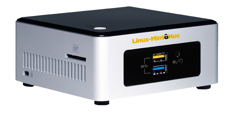 Linux-mint-nuc mini-computer