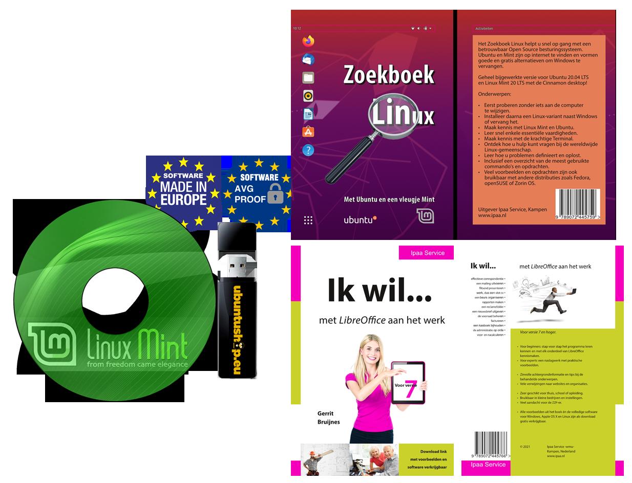 Linux-mint Installatie pack