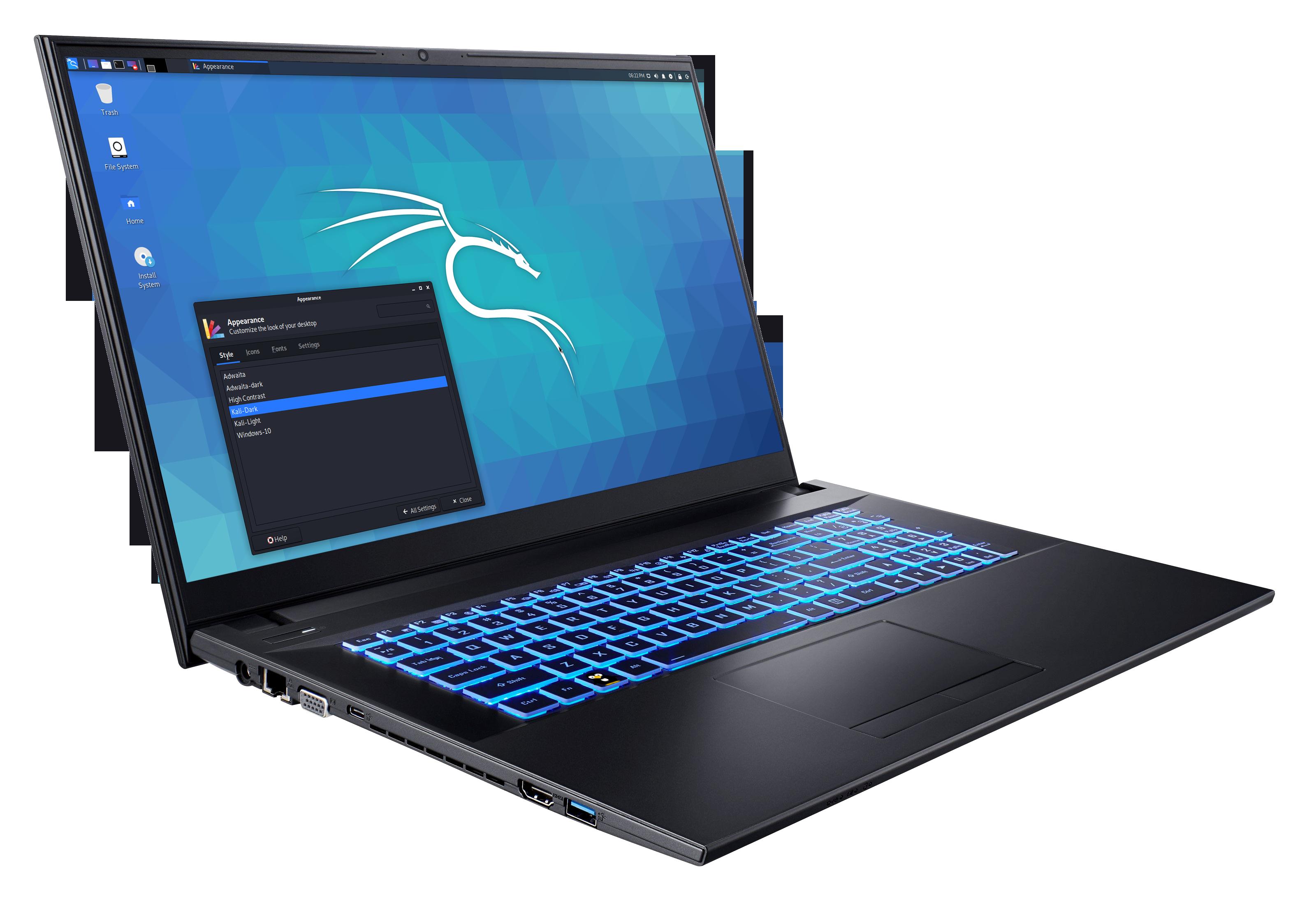 Kali NoteBook 17.3