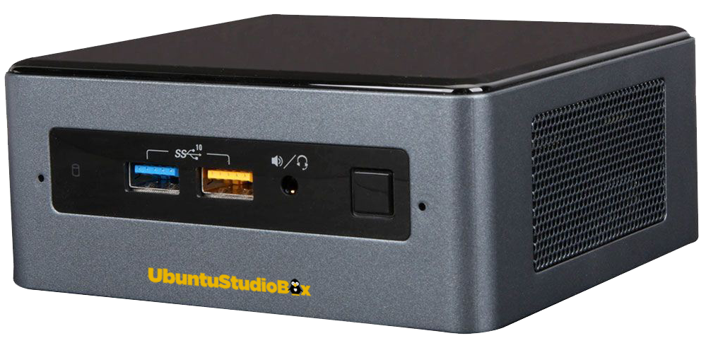 UbuntuStudio Mini Pc I3-8