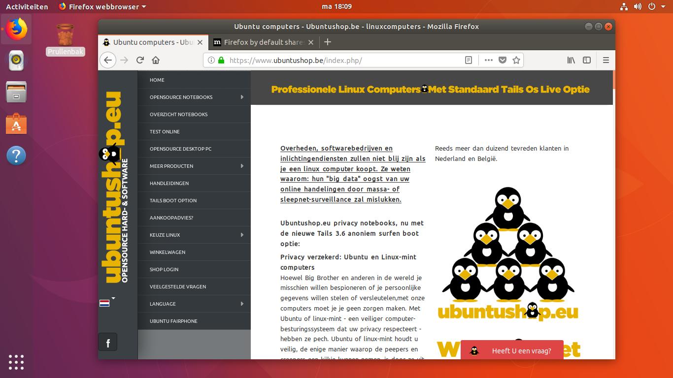 Ubuntu Notebooks - Ubuntushop eu- linuxcomputers