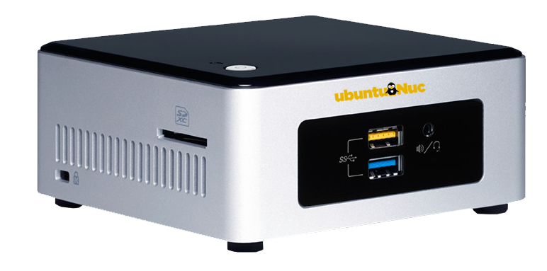 Ubuntu-nuc mini-computer