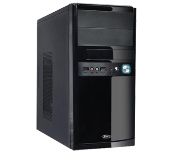 Ubuntu/debian/mint desktop computer silent mini-atx ssd 120gb+1terra